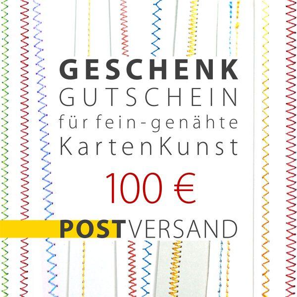 POST-Gutschein-100