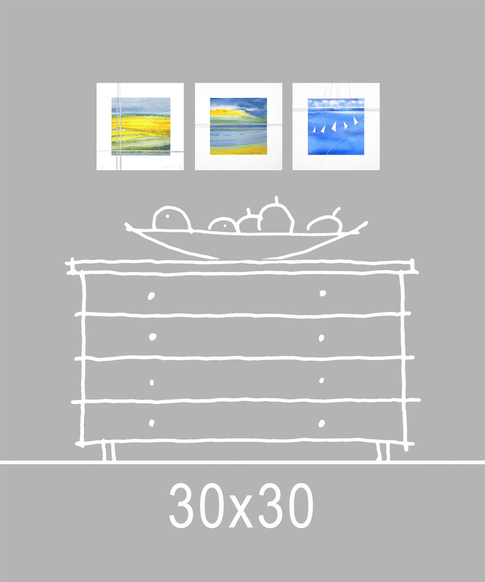 Format 30x30 cm