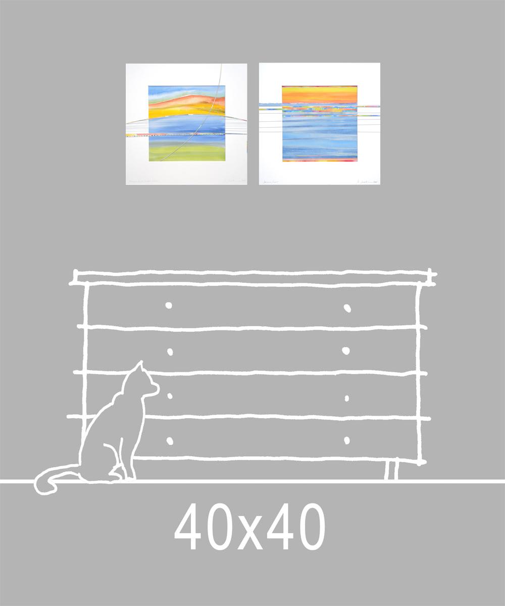 Bilder 40x40 cm